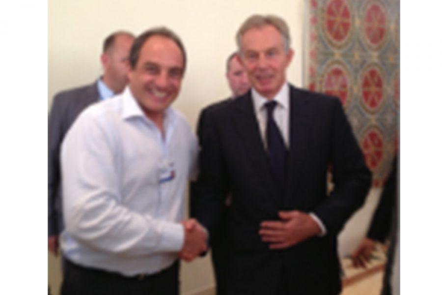 Edouard Cukierman & Tony Blair